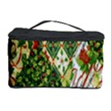 Christmas Quilt Background Cosmetic Storage Case View1