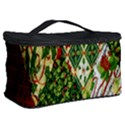 Christmas Quilt Background Cosmetic Storage Case View2