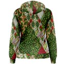 Christmas Quilt Background Women s Pullover Hoodie View2