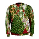 Christmas Quilt Background Men s Sweatshirt View1