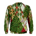 Christmas Quilt Background Men s Sweatshirt View2