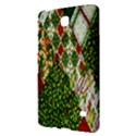 Christmas Quilt Background Samsung Galaxy Tab 4 (7 ) Hardshell Case  View2