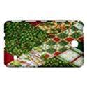 Christmas Quilt Background Samsung Galaxy Tab 4 (8 ) Hardshell Case  View1