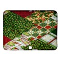 Christmas Quilt Background Samsung Galaxy Tab 4 (10.1 ) Hardshell Case  View1