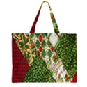 Christmas Quilt Background Large Tote Bag View1
