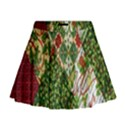 Christmas Quilt Background Mini Flare Skirt View1