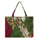 Christmas Quilt Background Medium Tote Bag View1