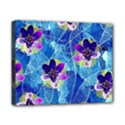 Purple Flowers Canvas 10  x 8  View1