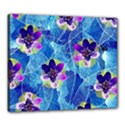 Purple Flowers Canvas 24  x 20  View1