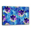 Purple Flowers Canvas 18  x 12  View1