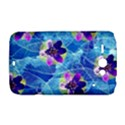 Purple Flowers HTC ChaCha / HTC Status Hardshell Case  View1