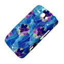 Purple Flowers HTC ChaCha / HTC Status Hardshell Case  View4