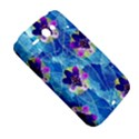 Purple Flowers HTC ChaCha / HTC Status Hardshell Case  View5