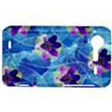 Purple Flowers HTC Incredible S Hardshell Case  View1