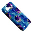 Purple Flowers HTC Incredible S Hardshell Case  View5