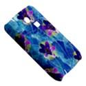 Purple Flowers Samsung S3350 Hardshell Case View5