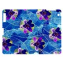 Purple Flowers Apple iPad 3/4 Hardshell Case View1