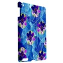 Purple Flowers Apple iPad 3/4 Hardshell Case View2