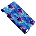 Purple Flowers Apple iPad 3/4 Hardshell Case View5