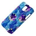 Purple Flowers Samsung Galaxy S II Skyrocket Hardshell Case View4