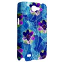 Purple Flowers Samsung Galaxy Note 2 Hardshell Case View2
