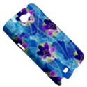Purple Flowers Samsung Galaxy Note 2 Hardshell Case View5