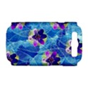 Purple Flowers Samsung Galaxy S III Hardshell Case (PC+Silicone) View1