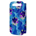 Purple Flowers Samsung Galaxy S III Hardshell Case (PC+Silicone) View3