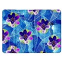 Purple Flowers Kindle Fire (1st Gen) Flip Case View1