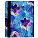 Purple Flowers Kindle Fire (1st Gen) Flip Case View3