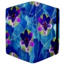 Purple Flowers Apple iPad 2 Flip Case View4