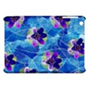 Purple Flowers Apple iPad Mini Hardshell Case View1