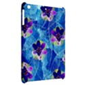 Purple Flowers Apple iPad Mini Hardshell Case View2