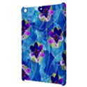 Purple Flowers Apple iPad Mini Hardshell Case View3