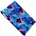 Purple Flowers Apple iPad Mini Hardshell Case View5