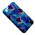 Purple Flowers Apple iPhone 3G/3GS Hardshell Case (PC+Silicone) View5