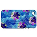 Purple Flowers Apple iPhone 4/4S Hardshell Case (PC+Silicone) View1