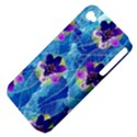 Purple Flowers Apple iPhone 4/4S Hardshell Case (PC+Silicone) View4