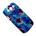 Purple Flowers Samsung Galaxy S III Classic Hardshell Case (PC+Silicone) View5
