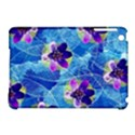 Purple Flowers Apple iPad Mini Hardshell Case (Compatible with Smart Cover) View1