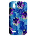 Purple Flowers HTC Desire V (T328W) Hardshell Case View2