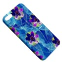 Purple Flowers Apple iPhone 5 Hardshell Case with Stand View5