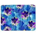 Purple Flowers Samsung Galaxy Tab 7  P1000 Flip Case View1