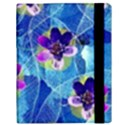 Purple Flowers Samsung Galaxy Tab 10.1  P7500 Flip Case View3