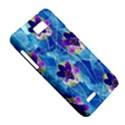 Purple Flowers Motorola XT788 View5