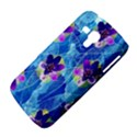 Purple Flowers Samsung Galaxy Duos I8262 Hardshell Case  View4