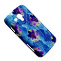 Purple Flowers Samsung Galaxy Duos I8262 Hardshell Case  View5