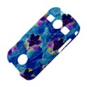 Purple Flowers Samsung Galaxy S7710 Xcover 2 Hardshell Case View4
