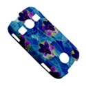 Purple Flowers Samsung Galaxy S7710 Xcover 2 Hardshell Case View5