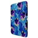 Purple Flowers Samsung Galaxy Tab 3 (10.1 ) P5200 Hardshell Case  View3